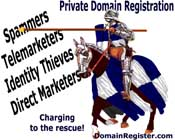 Shield yourself with Private Domain Registration